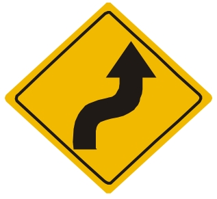 Resultado de imagen para curva y contracurva a la derecha