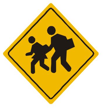 Resultado de imagen para zona escolar señal