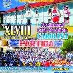 TRADICIONAL GRAN MARATON CAROLINA 2016 EDICION Nro XLVIII
